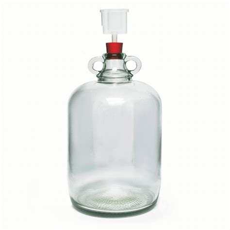 Glass Demijohn 5 Litre With Airlock And Bung | Home Brew