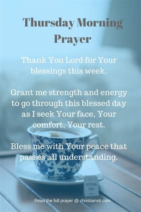 Thursday Morning Prayer Pictures, Photos, and Images for