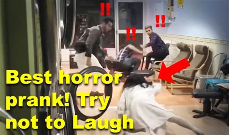 Best scary horror prank and Scare prank compilation! Try