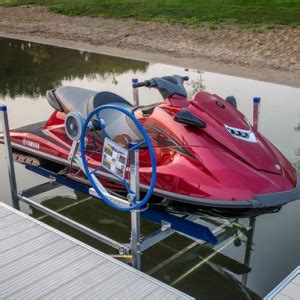 A Jet Ski Lift requires simple yearly maintenance to