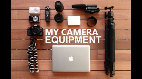My Camera Equipment: What I Use To Film My Vlogs - YouTube