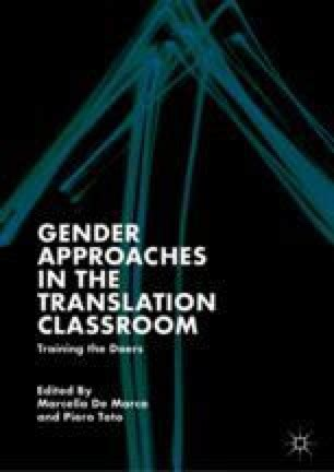 Teaching Gender Issues in Advertising Translation: The