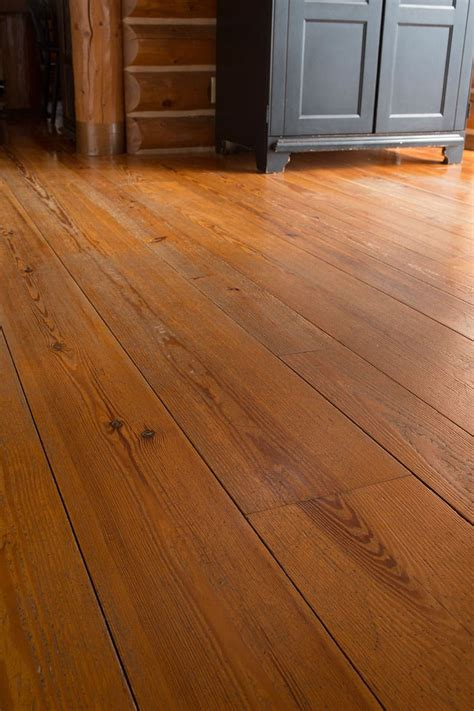 Heart Pine – William and Henry Wide Plank Floors