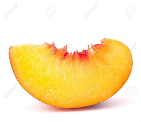 Download High Quality peach clipart slice Transparent PNG