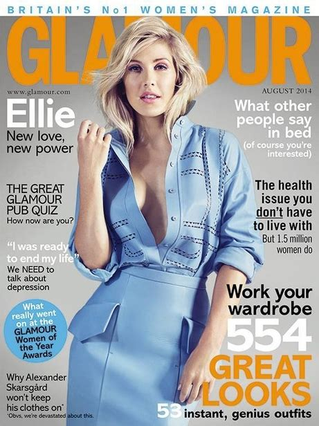 Patricia McMahon : Ellie Goulding in GLAMOUR UK cover