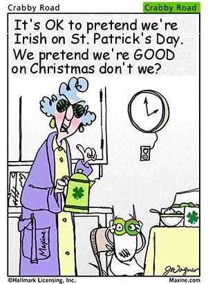St Patrick's Day Humor   Time for the Holidays