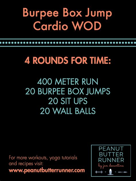 A Total Body Strength Workout & A Cardio CrossFit Workout