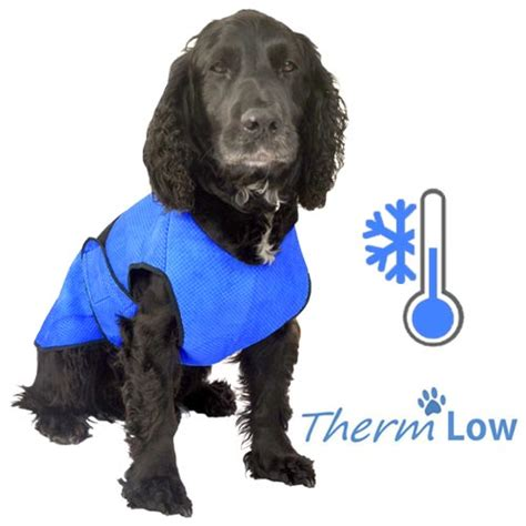 ThermLOW Dog Cooling Coat   Chest Coverage   UK Made