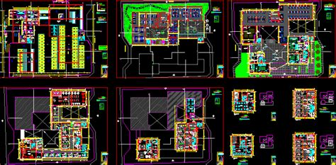 Project shopping center in AutoCAD | Download CAD free (4