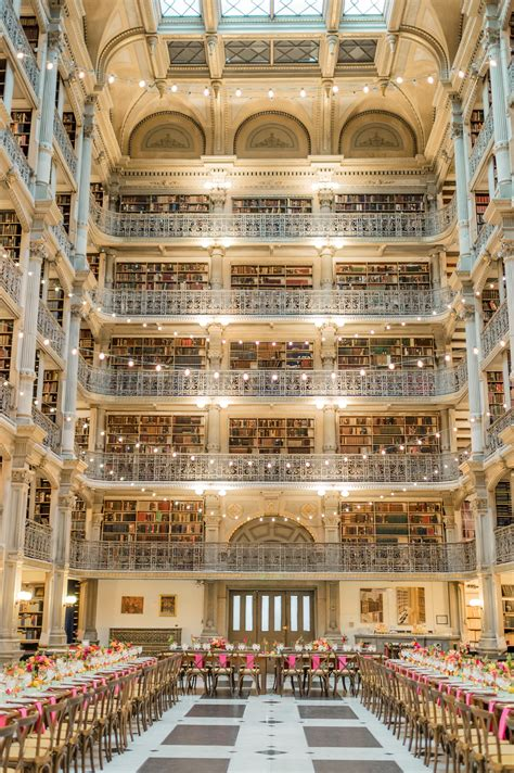 The George Peabody Library Wedding Venue in Baltimore
