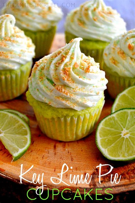 Key Lime Pie Cupcakes   The Domestic Rebel