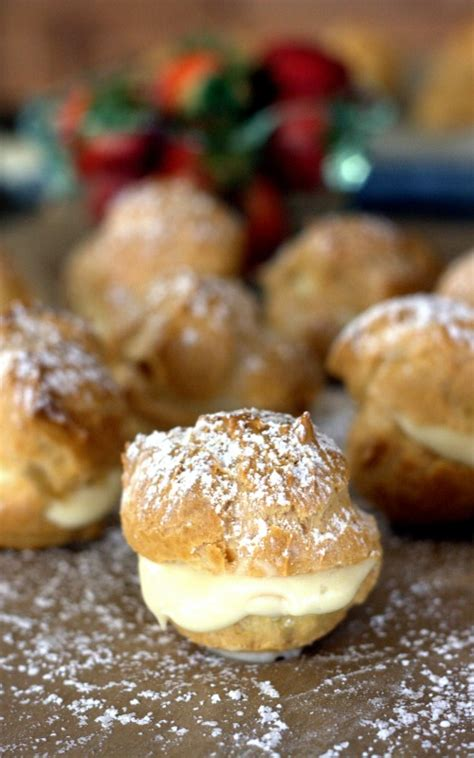 Easy Bavarian Cream Puff Recipe to Die For