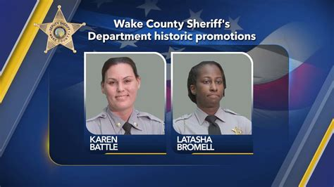 2 women in Wake County Sheriff's Office awarded historic