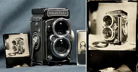 Using a Rolleiflex to Make Tintypes and Daguerreotypes