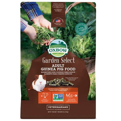 Oxbow Garden Select Fortified Food for Guinea Pigs | Petco
