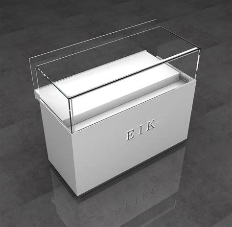Modern Glass Cell Phone Display Cases Mobile Shop Counter