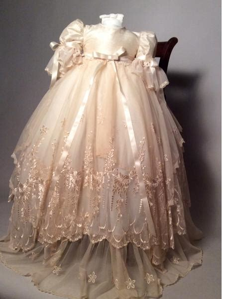Victorian christening gown-Jessenia Sale 3m in stock