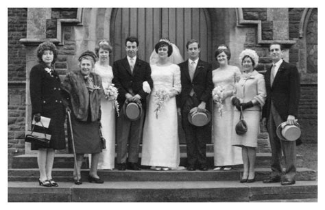 1965 Empire Wedding Dress Pictures of Bride
