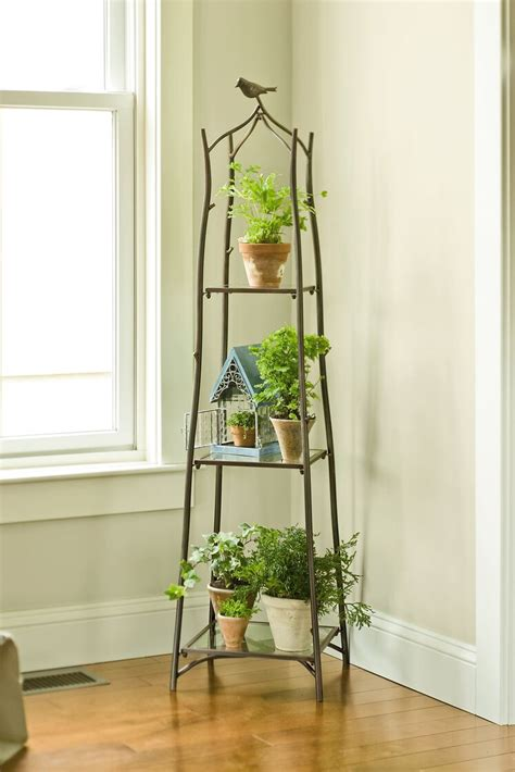 Branch Plant Stand   Plant Stands   Gardener's Supply