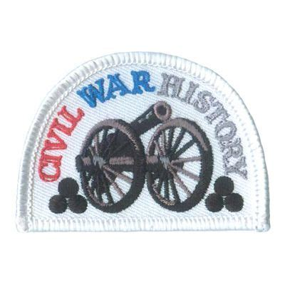 Civil War History Patch   Cool patches, Patches, Custom