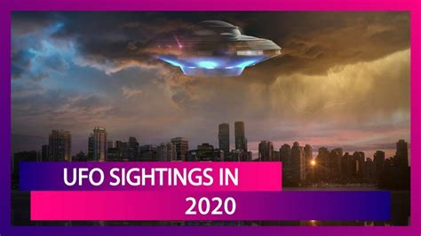 World UFO Day 2020: Sightings Of UFOs And Alien Theory