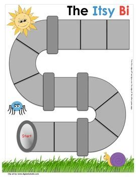Itsy Bitsy Spider Theme Set -Kindergarten by Laurie Rupp | TpT