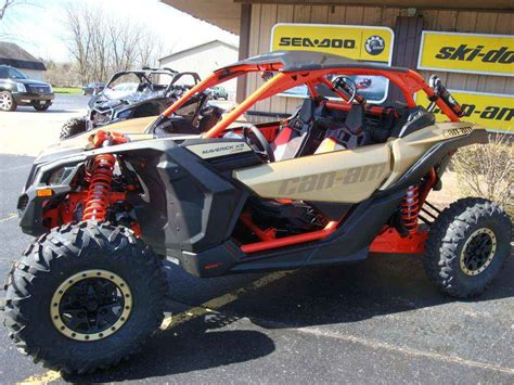 New 2017 Can-Am Maverick X3 X Rs Turbo R Gold / Can-Am Red