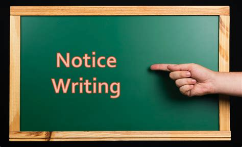 Notice Writing Format, Examples, Marking Scheme, Tips