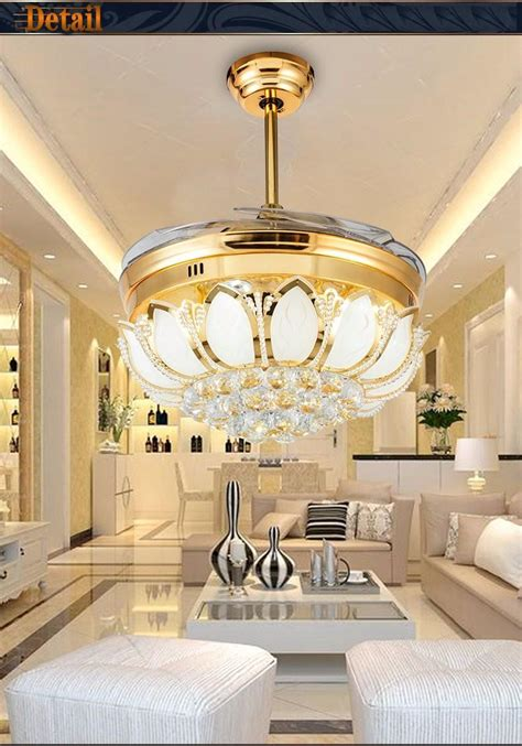 Stealth Fan Lights Simple And Stylish Modern Restaurant