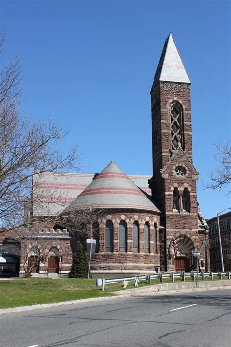 South Congregational Church, Springfield, Mass - Lost New