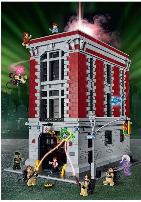 Lego 75827 Ghostbusters Firehouse Headquarters Designer