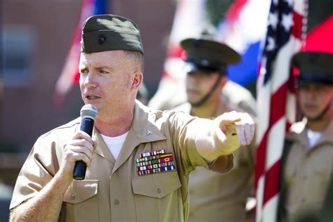 Marines welcome new battalion commander | Article | The