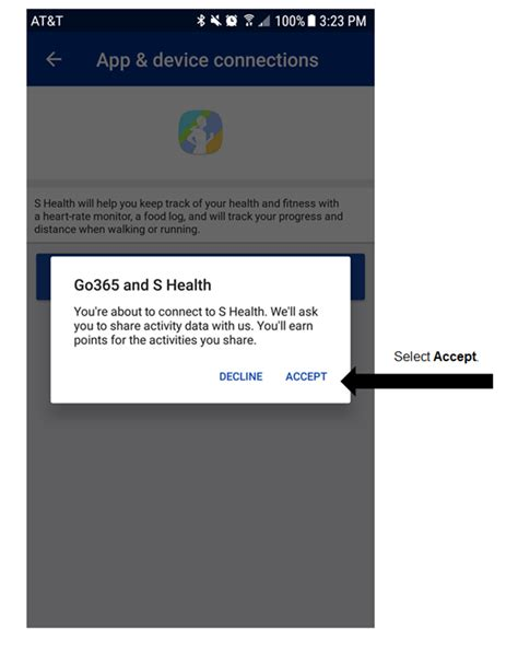How to connect Samsung Health