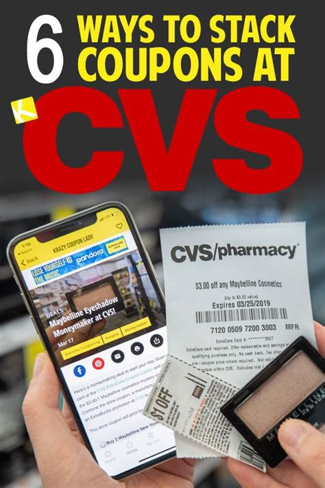 7 Ways to Stack Coupons at CVS - The Krazy Coupon Lady