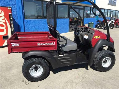 Used 2013 Kawasaki Mule 610 4x4 ATVs For Sale in South