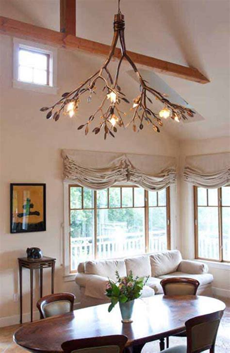 30 Sculptural DIY Tree Branch Chandeliers to Realize In an