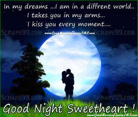 Romantic Goodnight Messages for Couples, Goodnight Love