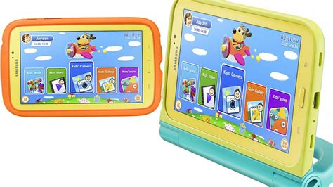 Samsung Galaxy Tab 3 Kids Is Just for the Children - ABC News